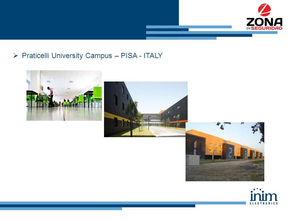  Praticelli University Campus – PISA - ITALY