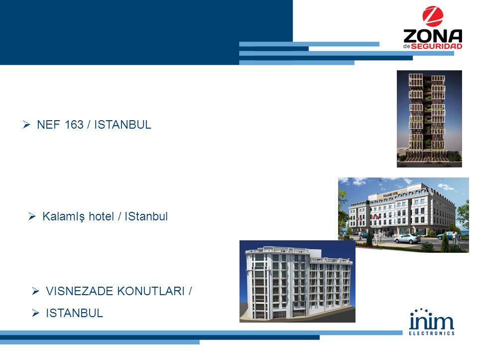  NEF 163 / ISTANBUL  KalamIş hotel / IStanbul  VISNEZADE KONUTLARI /  ISTANBUL