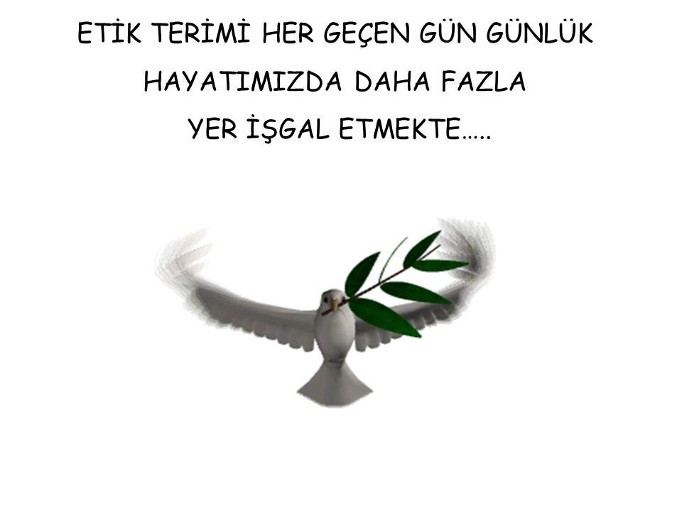BİLİMDE ETİK