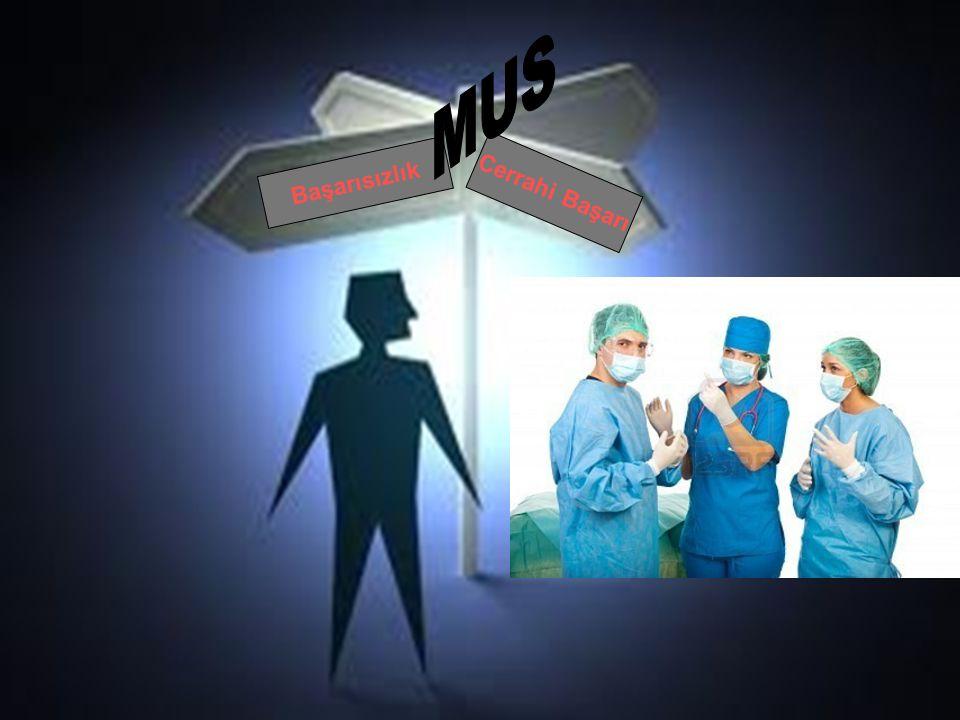 Başarısızlık Cerrahi Başarı