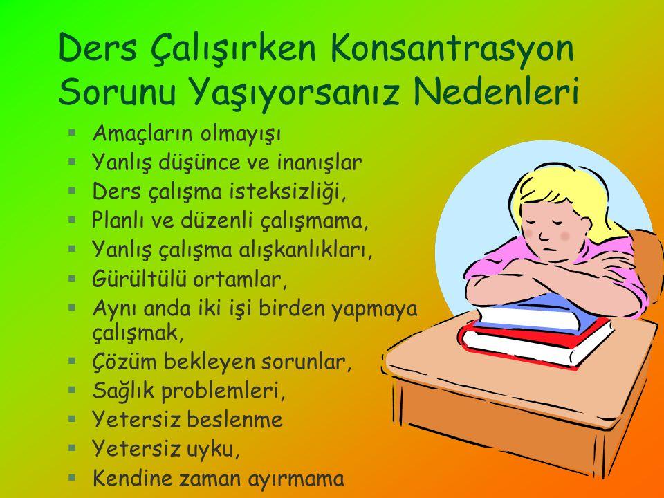 §Öğrenme üzerinde en az bozucu etki yapan etkinlik uykudur.