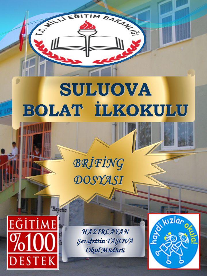 SULUOVA BOLAT İLKOKULU HAZIRLAYAN Şerafettin TAŞOVA Okul Müdürü