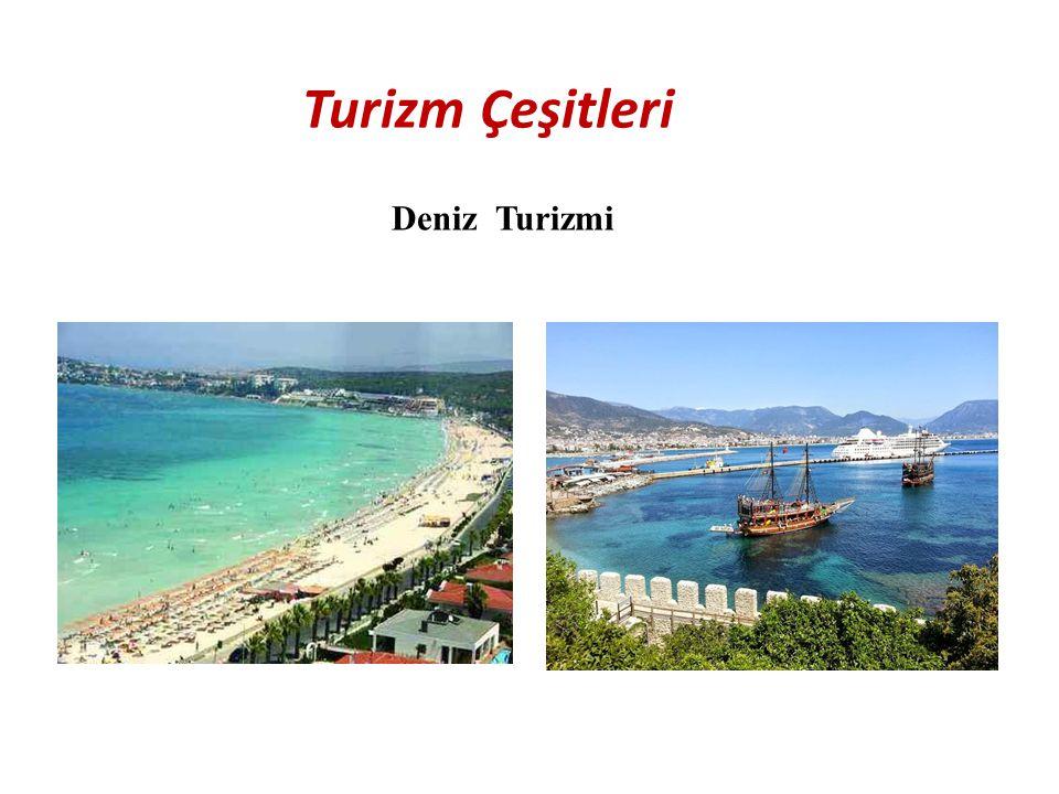 Turizm Çeşitleri Deniz Turizmi