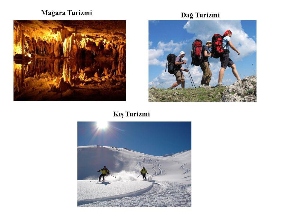 Mağara Turizmi Dağ Turizmi Kış Turizmi