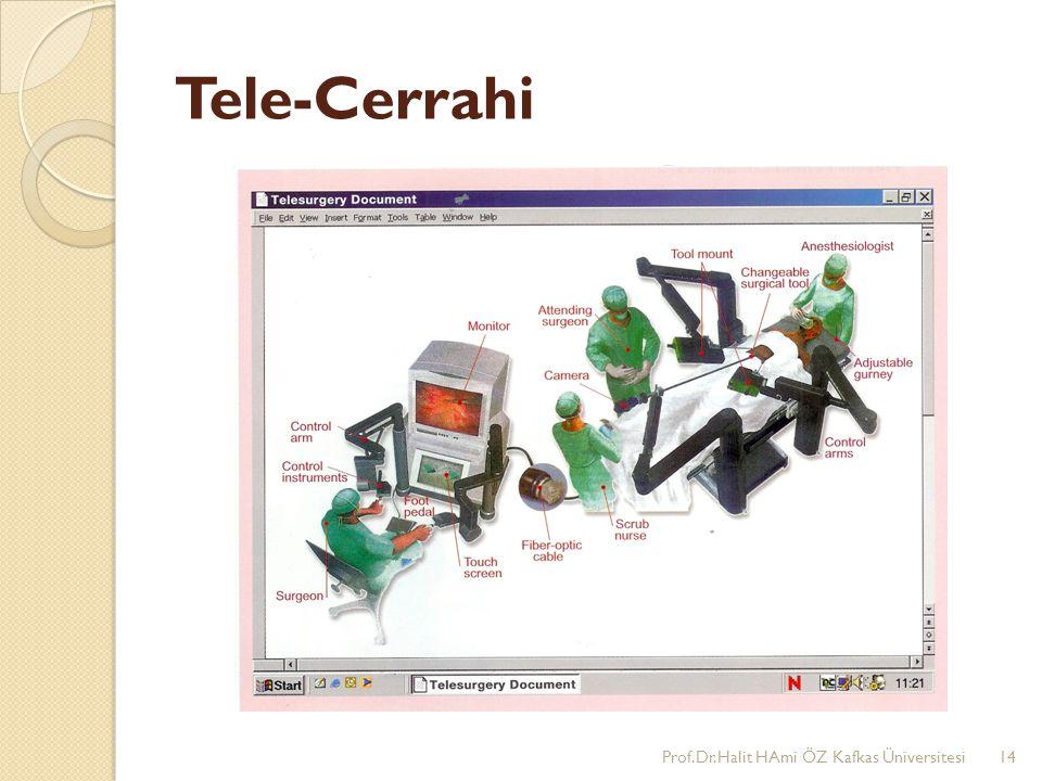 Tele-Cerrahi Prof.Dr.Halit HAmi ÖZ Kafkas Üniversitesi14