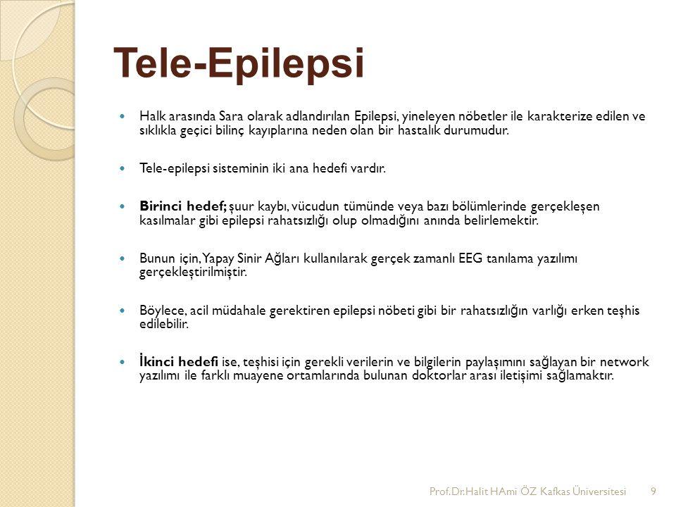 Tele-Epilepsi Halk arasında Sara olarak adlandırılan Epilepsi, yineleyen nöbetler ile karakterize edilen ve sıklıkla geçici bilinç kayıplarına neden o