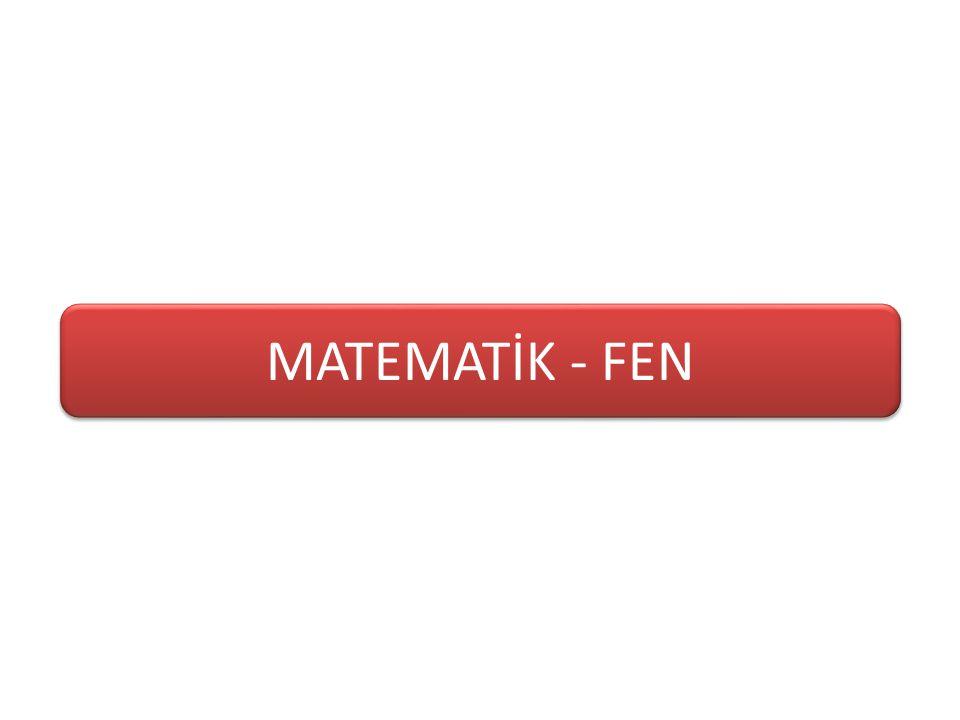 MATEMATİK - FEN