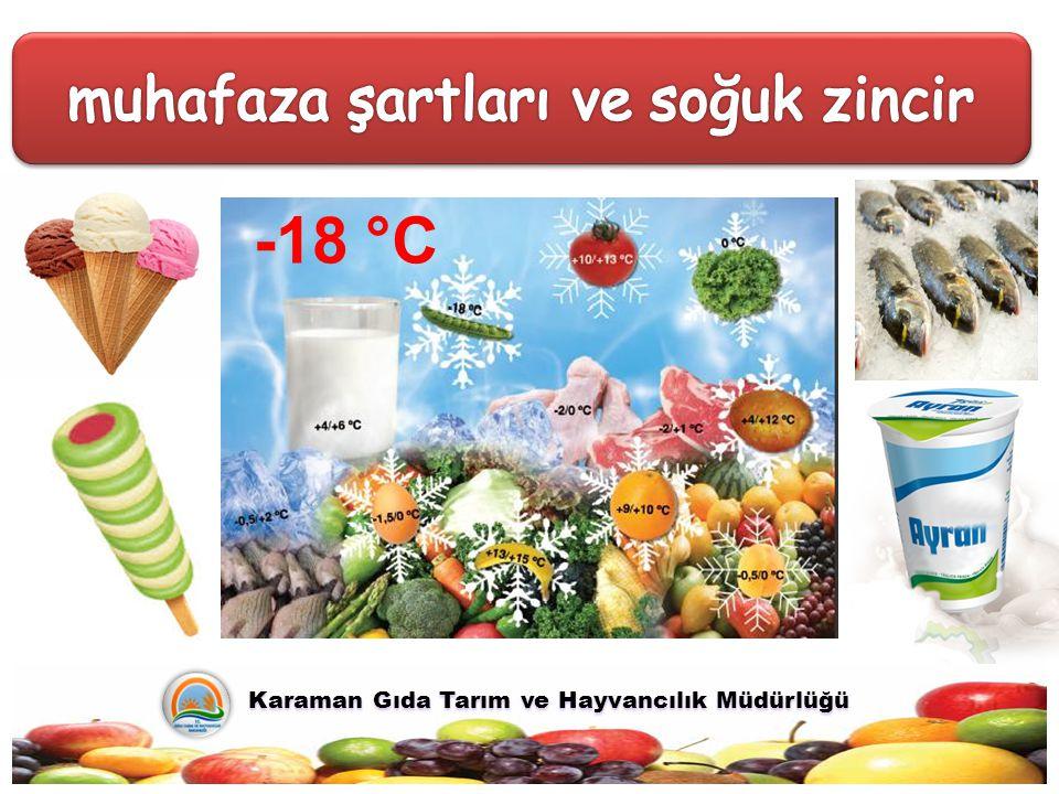 Karaman Gıda Tarım ve Hayvancılık Müdürlüğü Karaman Gıda Tarım ve Hayvancılık Müdürlüğü -18 °C