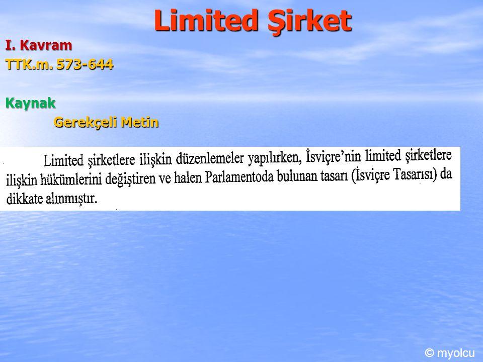 Limited Şirket I.