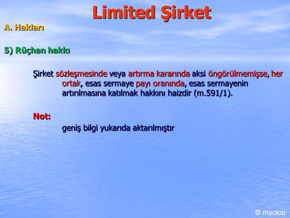 Limited Şirket A.Hakları A.