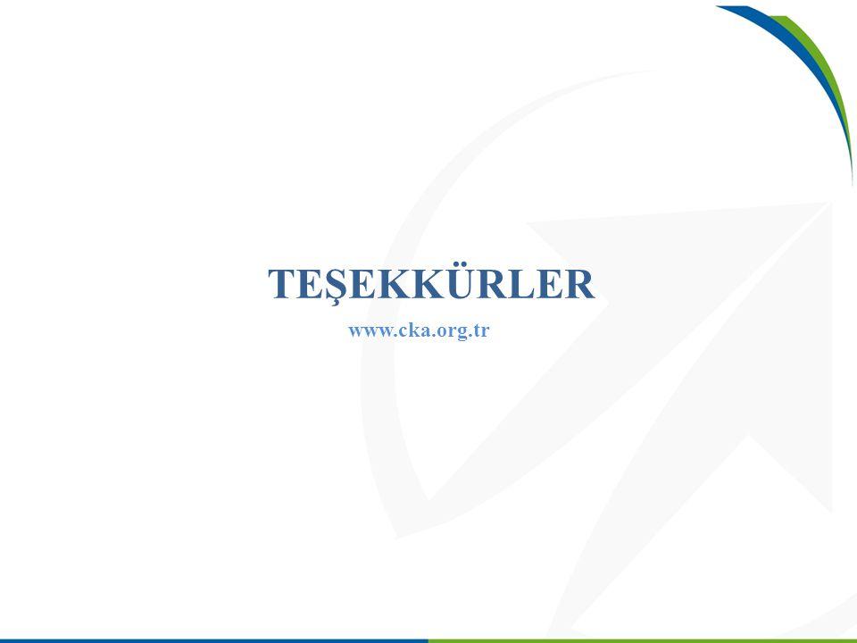 TEŞEKKÜRLER www.cka.org.tr