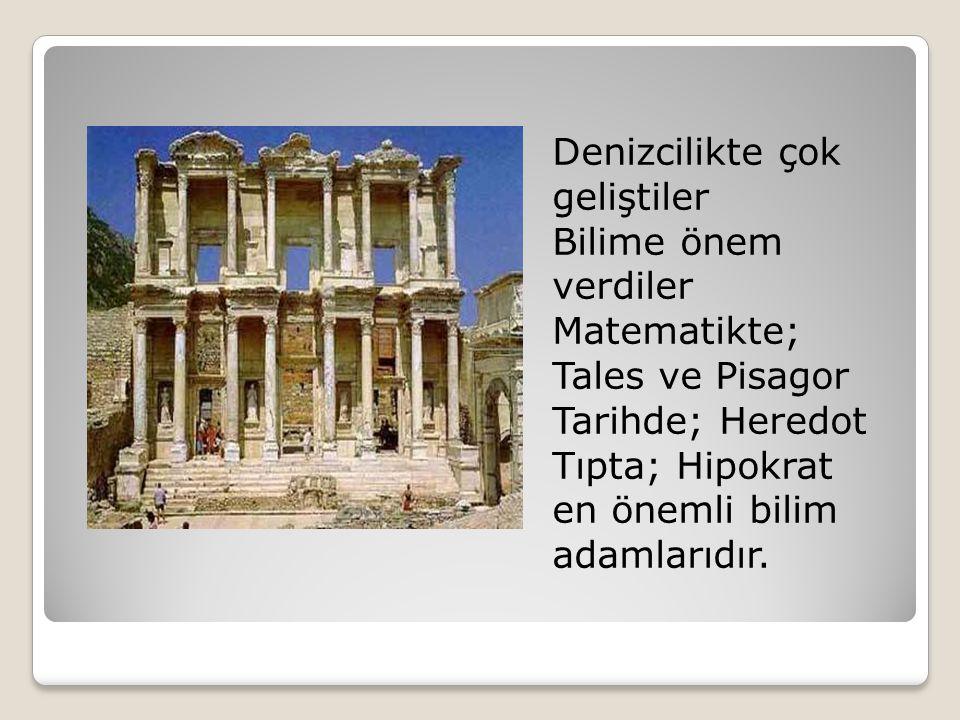 İyon Edebiyatının en önemli eseri Homeros un İlyada ve Odesa destanıdır.