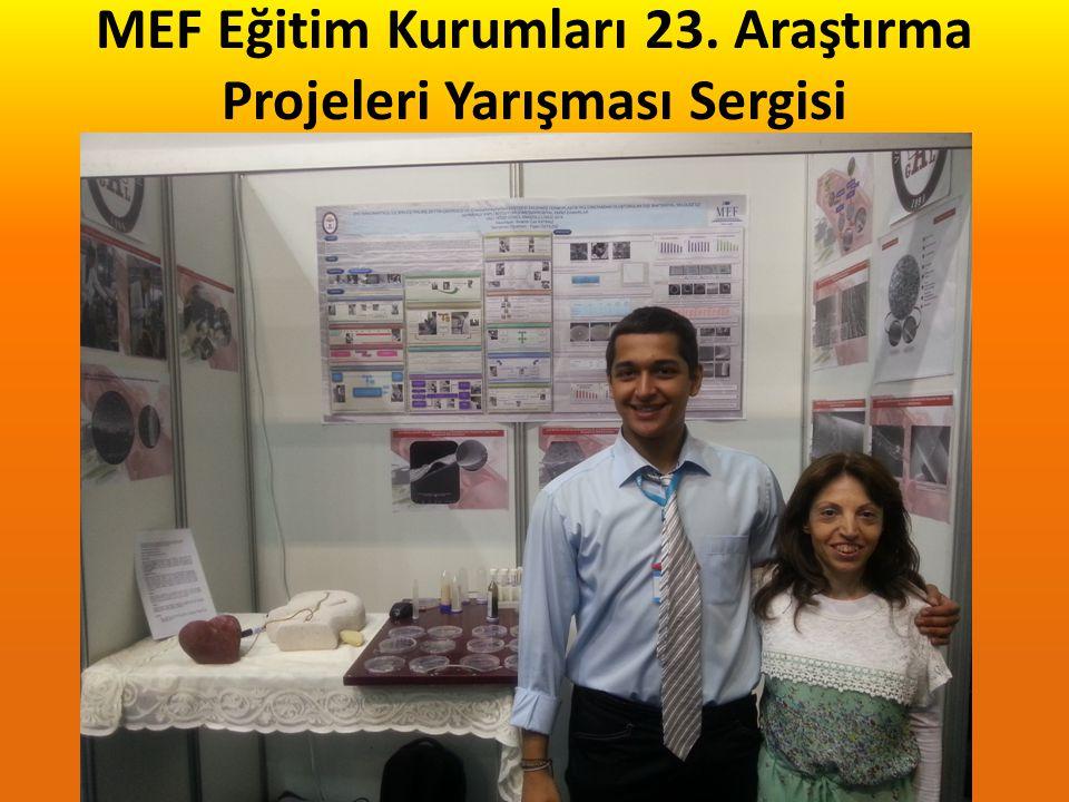 ÖZEL EGE LİSESİ 12. FEN ARAŞTIRMA PROJELERİ YARIŞMASI Biyoloji Dalı Türkiye 2.si