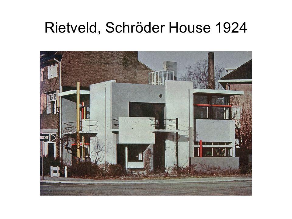 Rietveld, Schröder House 1924