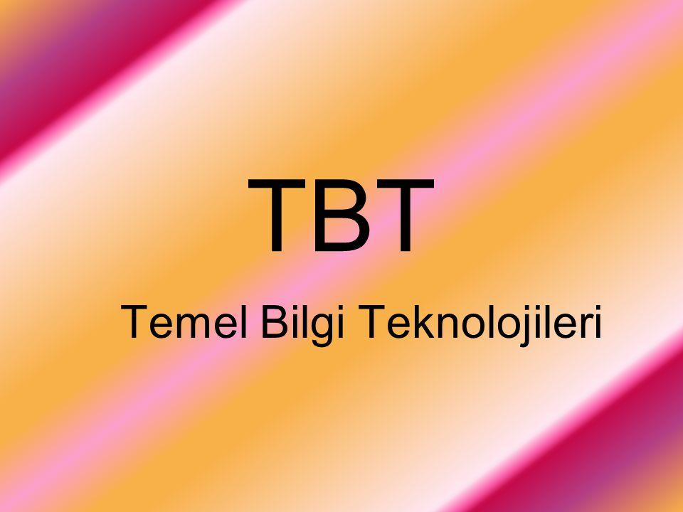 TBT Temel Bilgi Teknolojileri