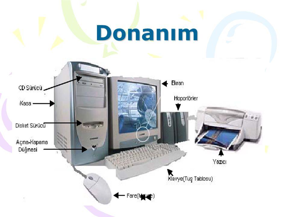 İşletim Sistemleri 1970 lerde Unixler 1984 Apple Macintosh OS 1990 Windows 3.0 1991 Linux 1995 Windows 95 1998 Windows 98 2000 Windows 2000 Windows XP Windows Vista … ???