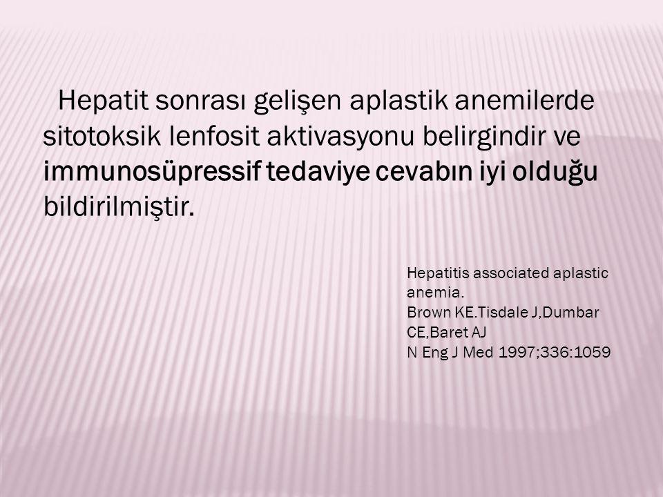 Klinik Bulgular Trombosit sayısı ilk önce etkilenir.