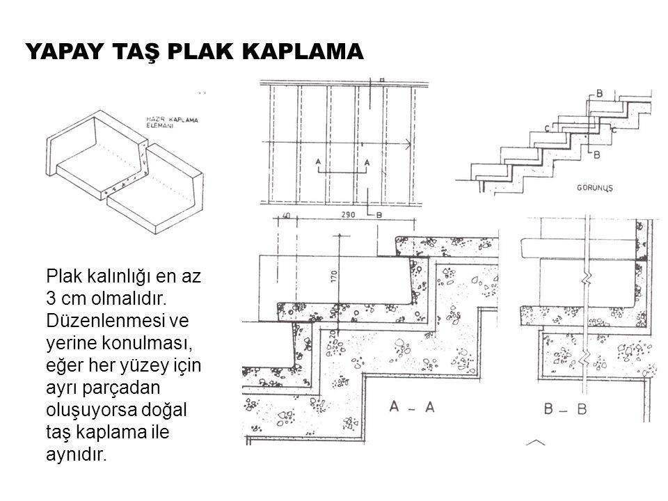 SERAMİK KAPLAMA Aşınma mukavemeti yüksek, sert, sesli ve soğuk bir malzemedir.merdivenler de basamak ve rıht için üretilmiş basamak özel plakları kullanılır.