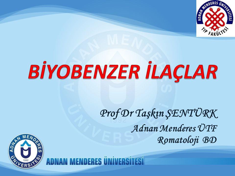Konuşma planı Biyolojik ilaçlar; tanım ve özellikleri Biyobenzer ilaçlar; tanım ve özellikleri Dünya'da ve Türkiye'de biyobenzer ilaç ruhsatlandırması Biyobenzerlerde güvenlik sorunları Romatolojide biyobenzerlerin durumu