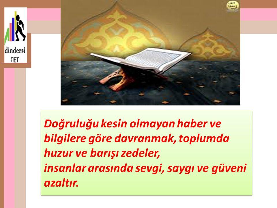 Konuyla ilgili güzel söz: Kur'an'ı öğrenin, çünkü o sözlerin en güzelidir.