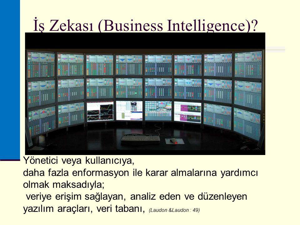 İş Zekası (Business Intelligence).