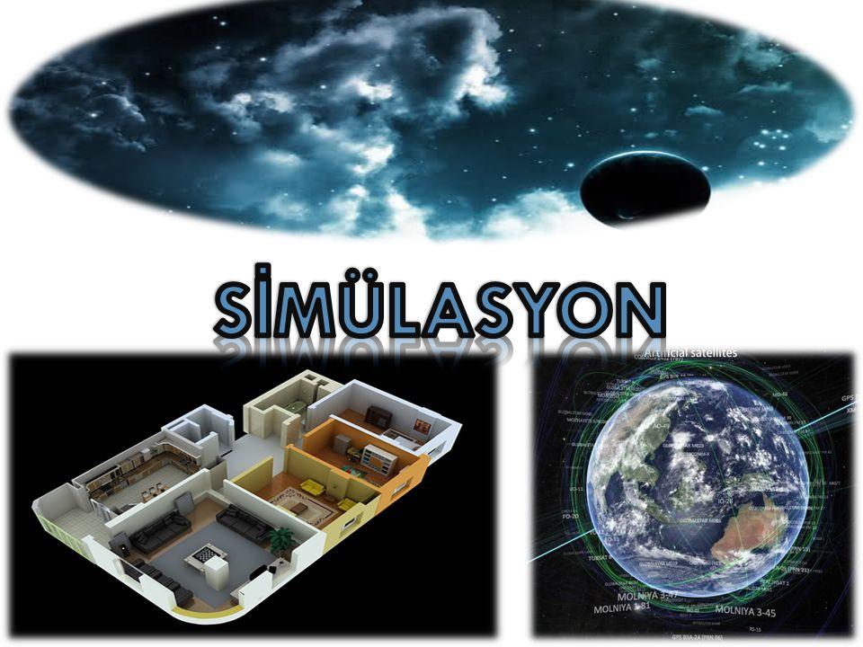 4-Durumları gösteren, tanımlayan simülasyon programları İşlevsel simülasyonlar farklı konumlardaki insanların davranışları ve görüşleri ile bir noktada birleşmelerini sağlar.