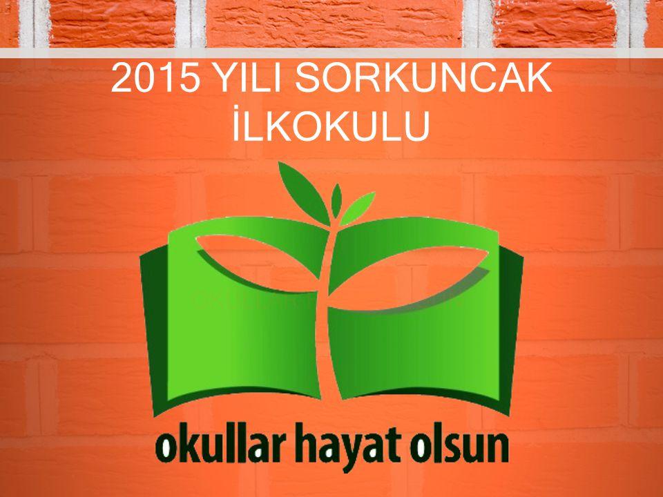 2015 YILI SORKUNCAK İLKOKULU