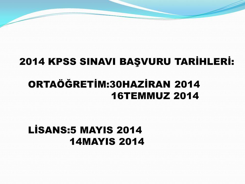2014 YGS SINAVI 23MART 2014 TARİHİNDE YAPILACAKTIR. MESLEK LİSESİ ÖĞRENCİLERİ İKİ YILLIK FAKÜLTELER İÇİN SINAVSIZ GEÇİŞTEN FAYDALANABİLİR.