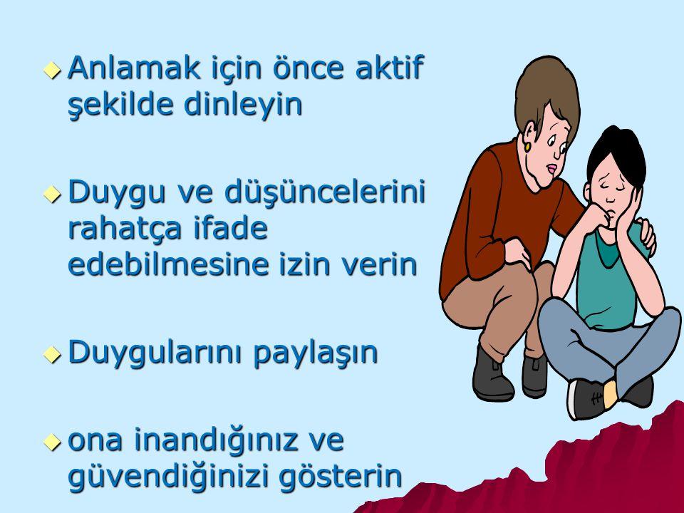  ERGENLERLE İLİŞKİLERDE ÖNEMLİ TAVSİYELER