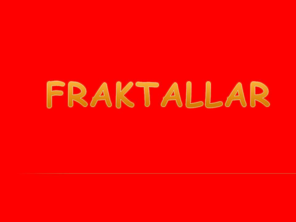 Fraktallar, doğanın geometrisi olarak bilinir.