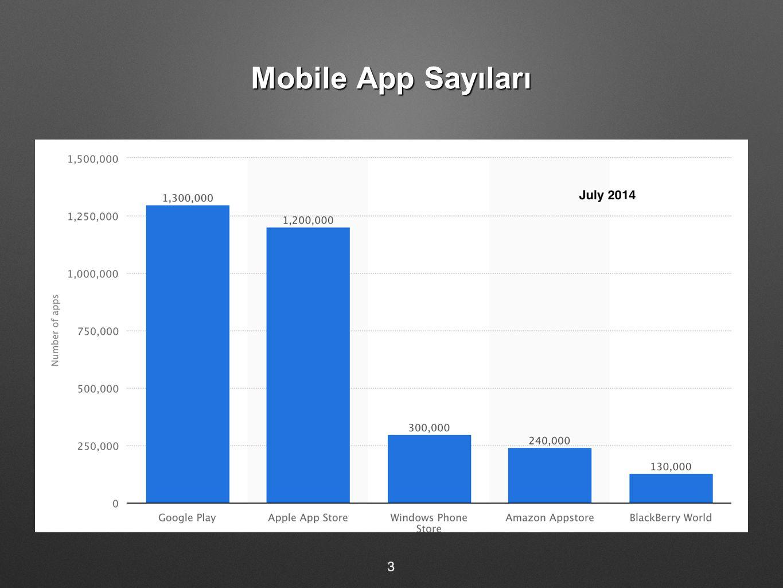 Mobile App Sayıları 3