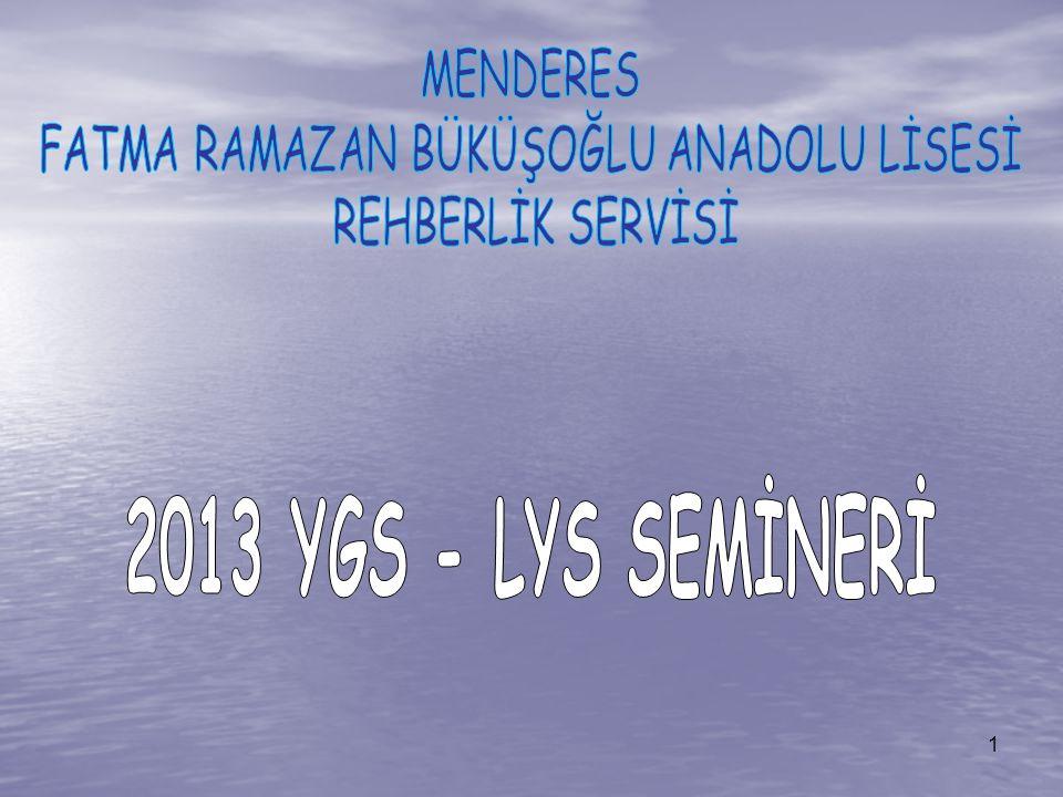 LYS – 4 TESTİNDE : 44 Tarih sorusundan 2010 yılında 15 2011 yılında 15 2012 yılında 16 Çağdaş Türk ve Dünya Tarihi sorusu gelmiştir.