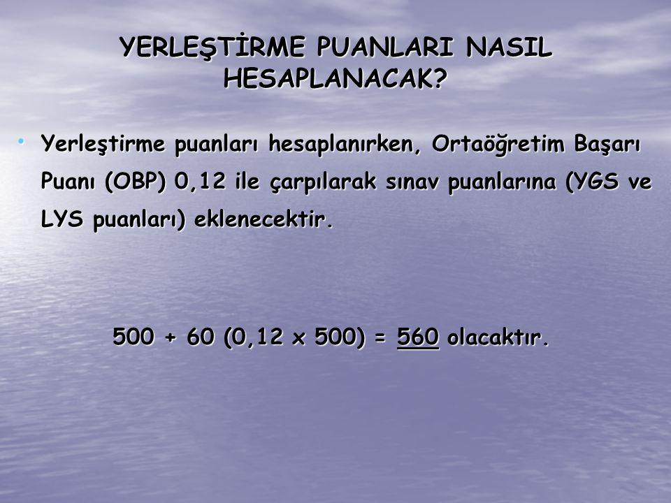 DİKKAT .LYS-1 MATEMATİK 9.