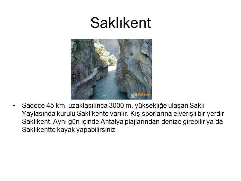 Damlataş Antalya, Alanya İlçesi'nde şehir içinde ve deniz kıyısında bulunmaktadır.