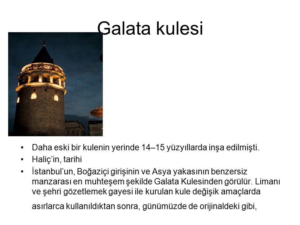 Anadolu hisarı Anadolu Hisarı, asıl kale, iç kale duvarları ve üç kuleden meydana gelir.