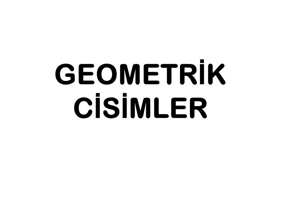 GEOMETR İ K C İ S İ MLER