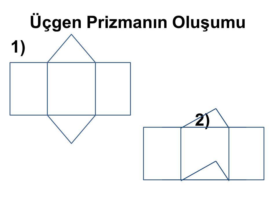 Üçgen Prizmanın Oluşumu 1) 2)