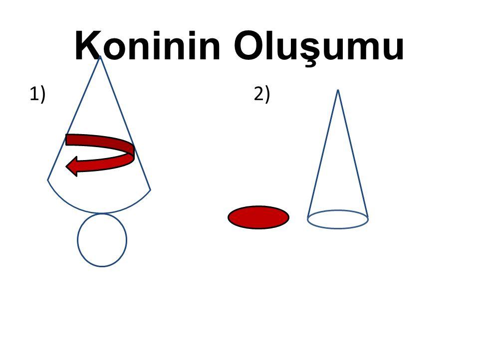 Koninin Oluşumu 1) 2)