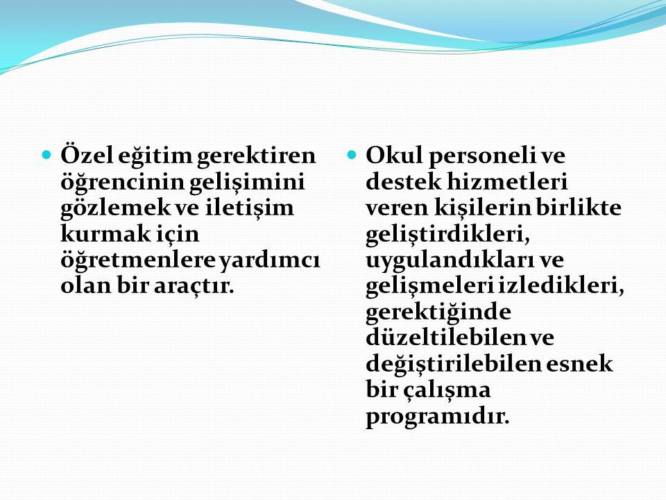 PERFORMANS YAZIMINA ÖRNEK: Türkçe: ali 10 yaşında bir erkek öğrencidir.