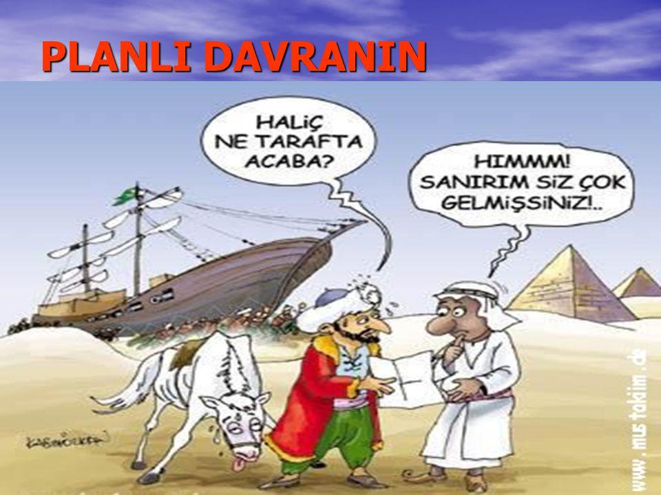 PLANLI DAVRANIN