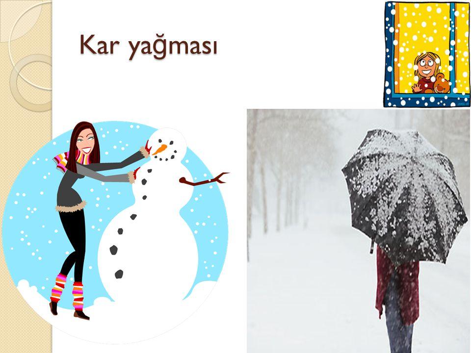 Kar ya ğ ması