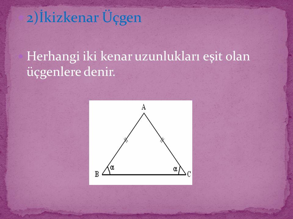 KAZANIMLAR Kareli, noktalı ya da izometrik kâğıtlardan uygun olanlarını kullanarak açılarına göre ve kenarlarına göre üçgenler oluşturur; oluşturulmuş farklı üçgenleri kenar ve açı özelliklerine göre sınıflandırır.