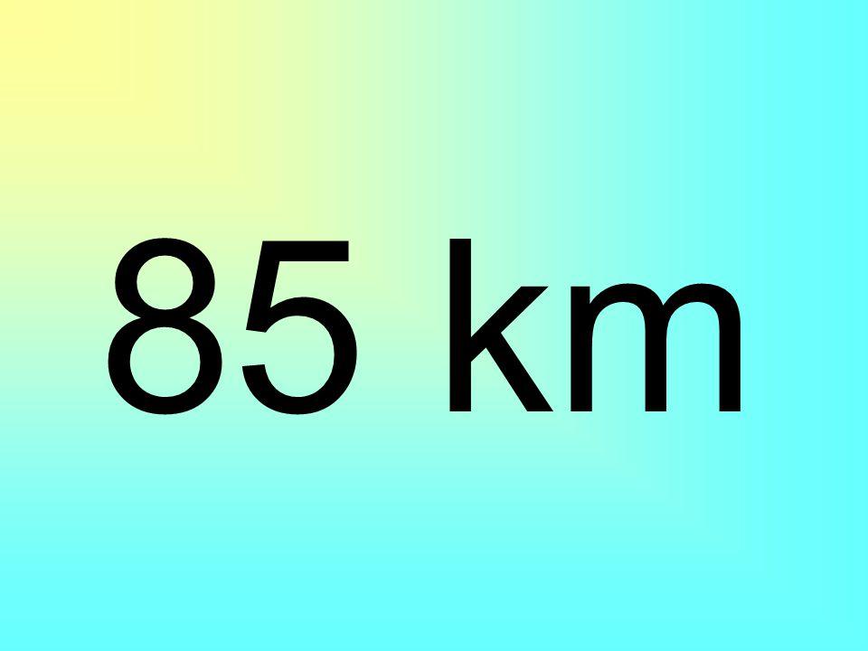 Bir araba, gideceği yolun 55 km'sini gidince geriye 30 000m yol kalıyor. Yolun tamamı kaç km'dir?