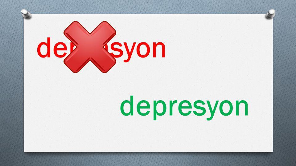 deprasyon depresyon