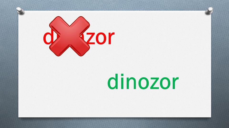 dinazor dinozor