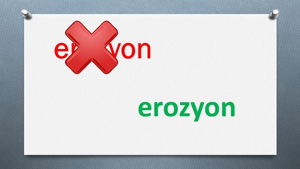 erezyon erozyon