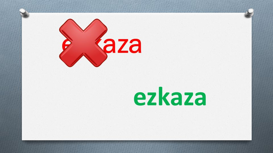 eskaza ezkaza