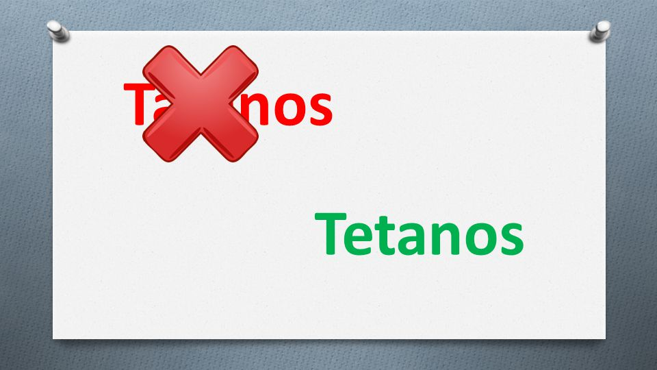 Tatanos Tetanos