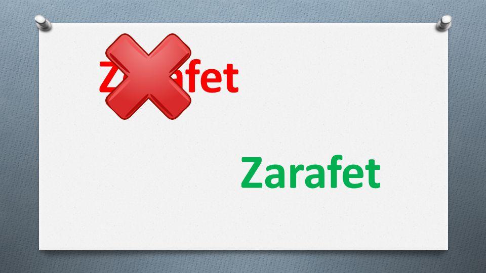 Zerafet Zarafet