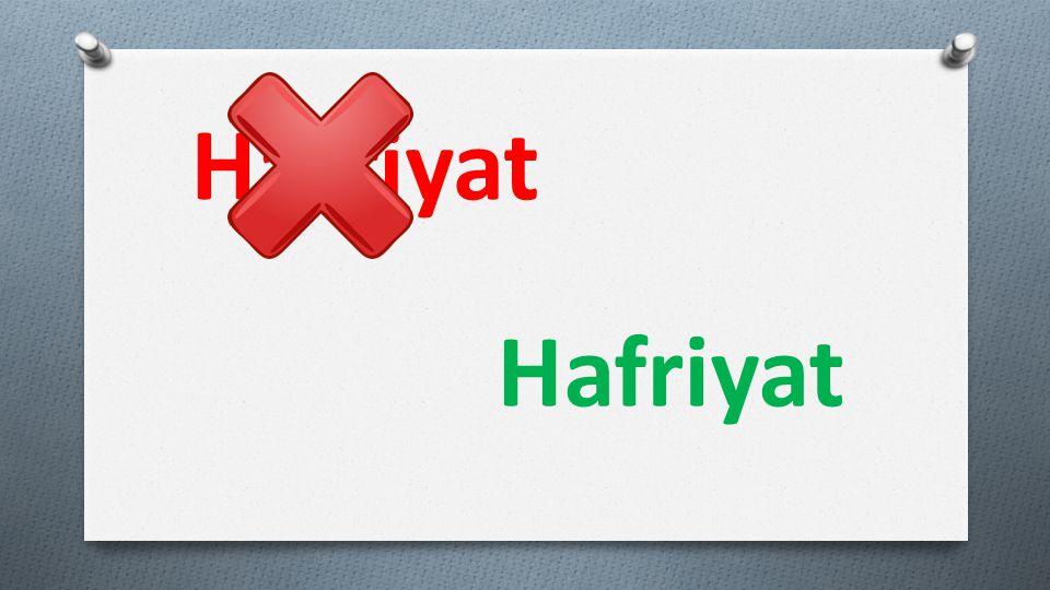 Harfiyat Hafriyat